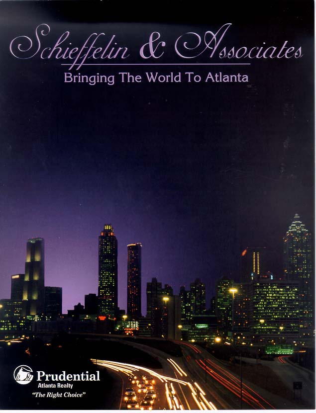 4 page brochure for Prudential GA. Realty